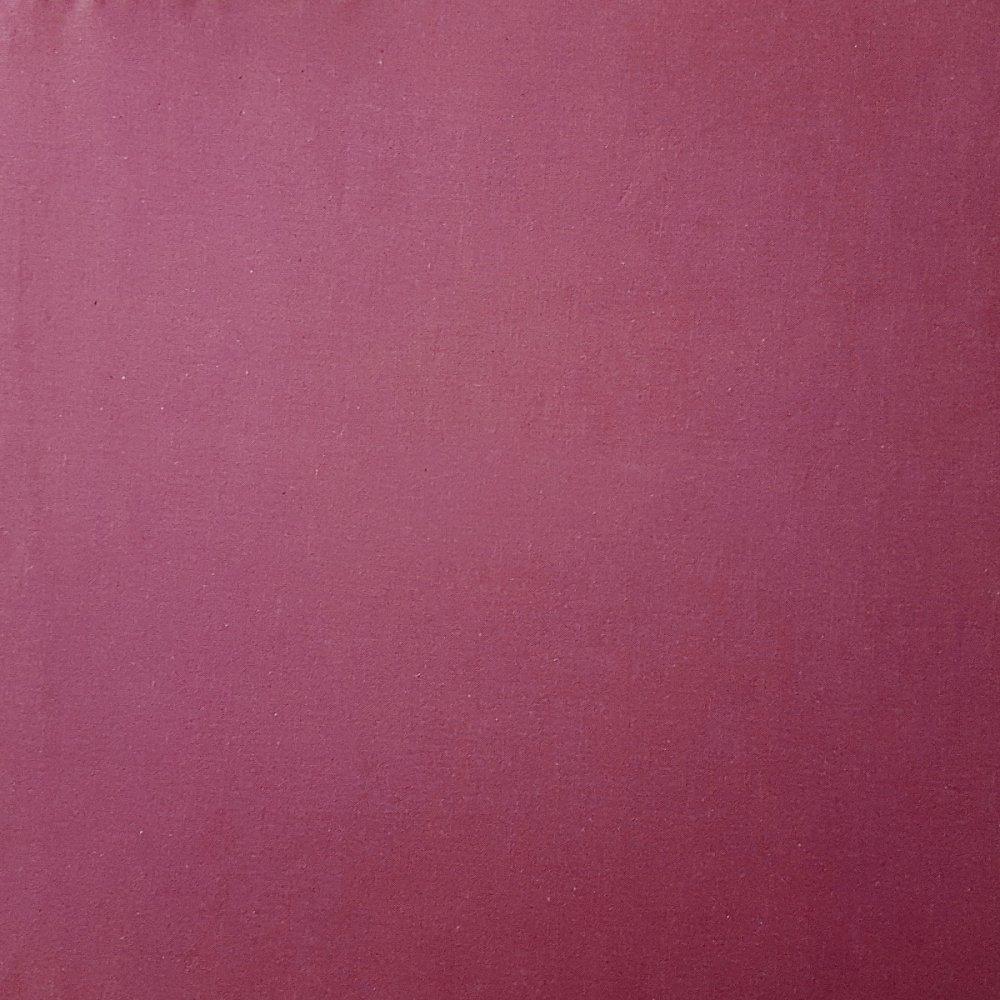 בד כותנה בורדו - רוחב 2.5 מטר