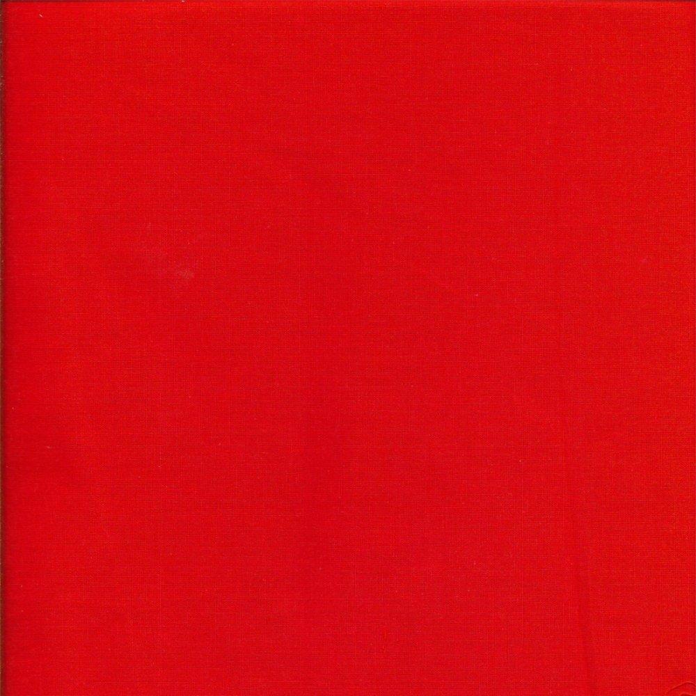 בד כותנה אדום - רוחב 2.5 מ'