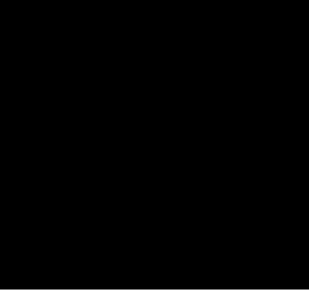 בד דריל לייקרה מכובס שחור