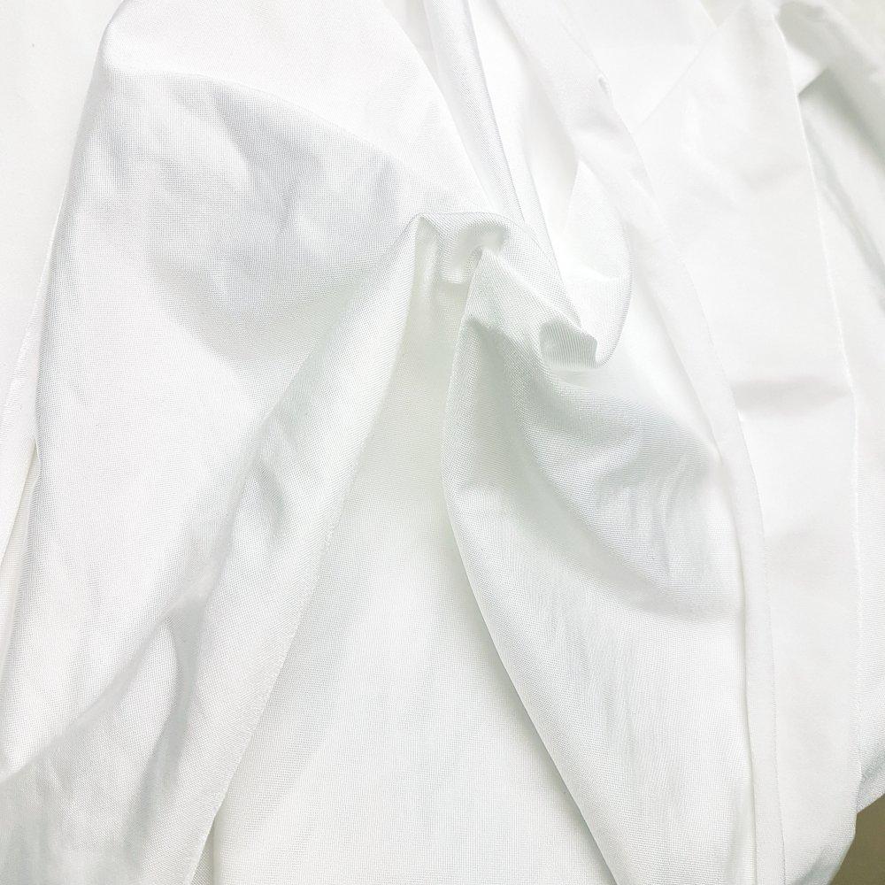בד לייקרה 145 גר' מבריק לבן