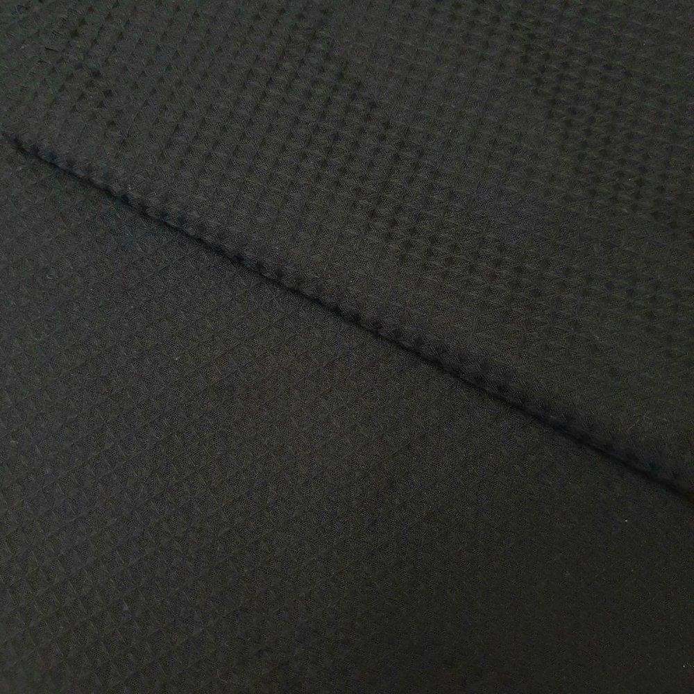 בד פיקה שחור - רוחב 2.2 מ'